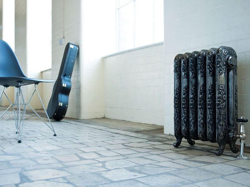 Чугунные радиаторы в ретро стиле, батареи в ретро дизайне