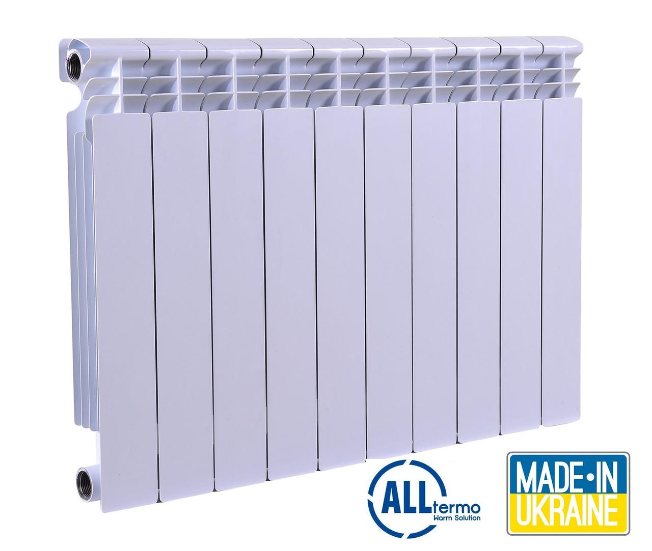 Алюминиевые радиаторы Alltermo Uno 500/80 Украина