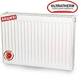 Стальные панельные радиаторы Ultratherm 22 тип 500/600 нижнее/боковое подключение, Турция, фото 2