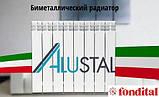 Биметаллический радиатор Fondital Alustal 500/100 (Италия), фото 2