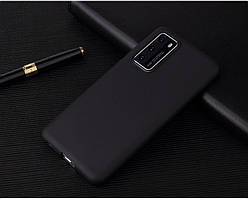 Чехол Soft Touch для Huawei P40 силикон бампер черный