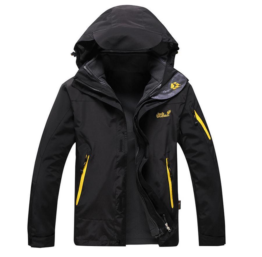 Качественные мужские куртки 2в1 JACK WOLFSKIN