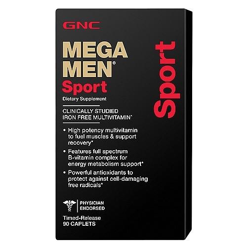 Витамины для мужчин GNC Mega Men Sport (90 таб)