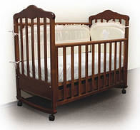 Кроватка Верес Соня ЛД-11 с резьбой