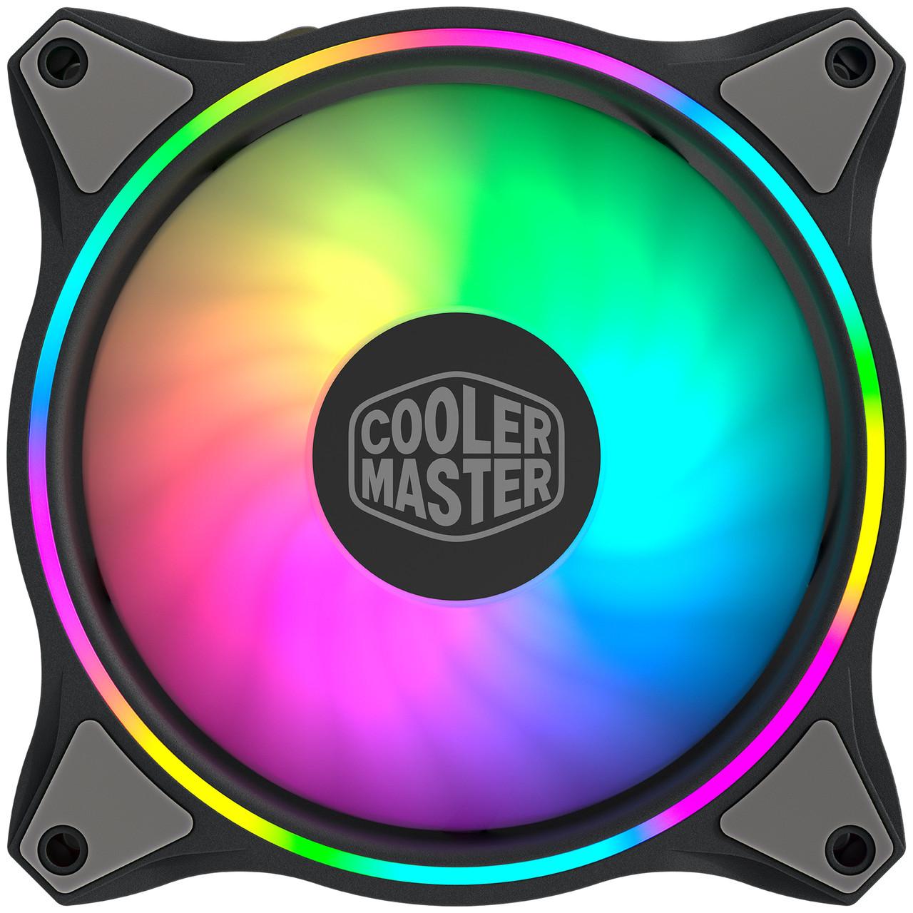 Набір корпусних вентиляторів Cooler Master MasterFan MF120 Halo 3in1 ARGB (MFL-B2DN-183PA-R1)