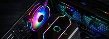 Набір корпусних вентиляторів Cooler Master MasterFan MF120 Halo 3in1 ARGB (MFL-B2DN-183PA-R1), фото 3