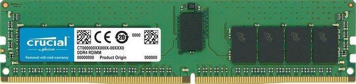 Память к серверу Micron Crucial DDR4 2666 16GB ECC REG RDIMM (CT16G4RFD8266)