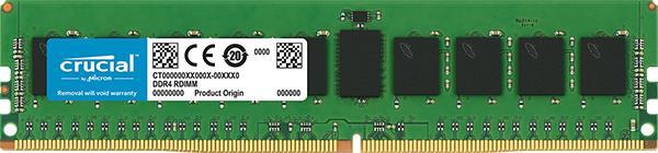 Память к серверу Micron Crucial DDR4 2666 8GB ECC REG RDIMM (CT8G4RFD8266)