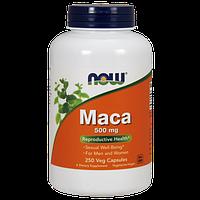 Природный биостимуляторор NOW Foods Maca 500 mg (250 капс)