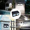 Комплект 8шт. Двойной фонарь с датчиком движения Solar Motion  40 LED водонепроницаемый на солнечной батарее, фото 2