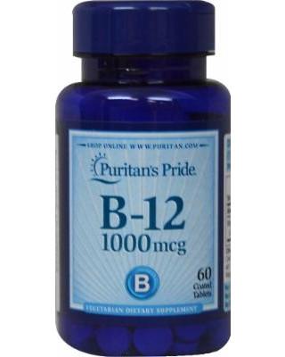 Витаминно-минеральный комплекс Puritan's Pride Vitamin B-12 1000 мкг (100 капс)