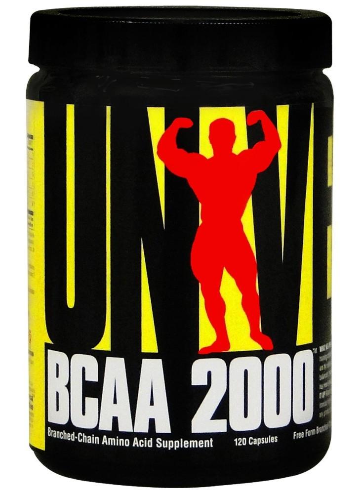 BCAA аминокислоты Universal BCAA 2000 (120 капс)