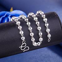 Жіночий ланцюжок с перлинами, медсплав   FS-1751-75, фото 1