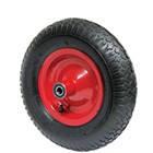Пневматические колеса для тачек без кронштейна на шариковом подшипнике ф400
