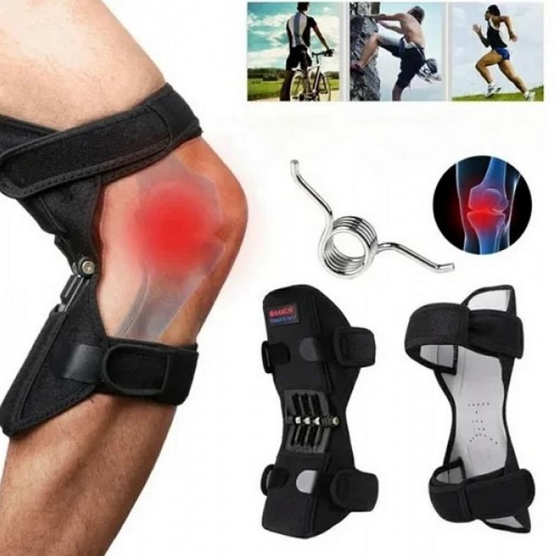 Поддержка усилитель-фиксатор коленного сустава Powerknee Nasus Sports (Оригинальные фото)