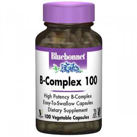 В Комплекс Bluebonnet Nutrition B-complex 100 (100 желевых капсул)