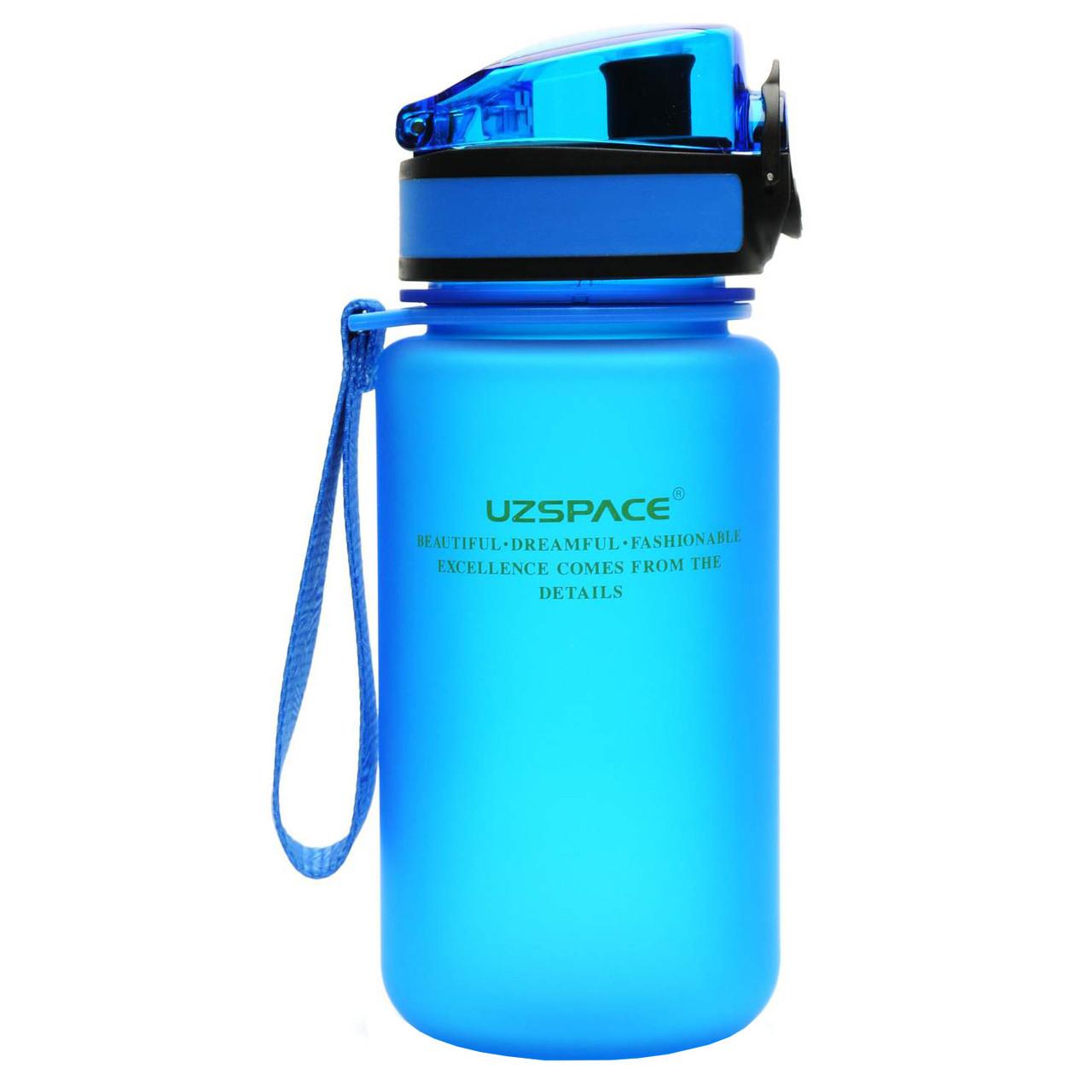 Бутылка для воды UZspace Blue (350 мл) - Синяя