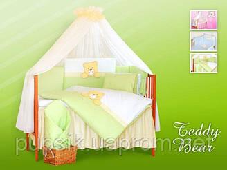 Постельный комплект в кроватку Tuttolina (7 предметов)