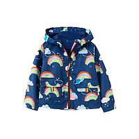 Куртка-ветровка для девочки Rainbow