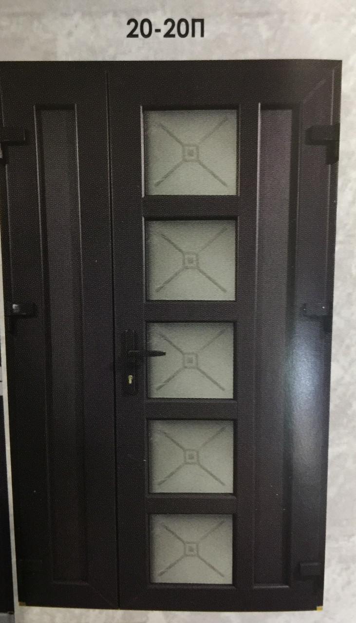 Двері металопластикові