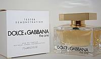 Тестер Dolce Gabbana The One  Парфюмированная вода (лицензия) Эмираты ОАЭ