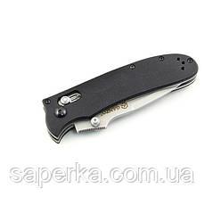 Нож складной Ganzo G704, черный, фото 3