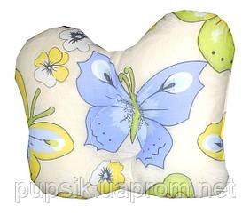 Подушка-фиксатор ортопедическая для новорожденных Бабочка