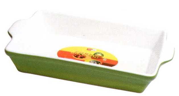 Форма прямоугольная из жаропрочного фарфора 41 см Forno