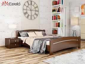 Кровать Венеция 120х190 Бук Массив 101 (Эстелла-ТМ)