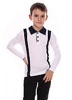 Кофта для мальчиков - белое с синим, белое с черным