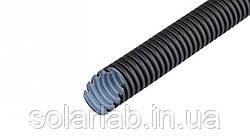 Труба гофрированная ПВХ УФ-стойкая (750Н) d16мм