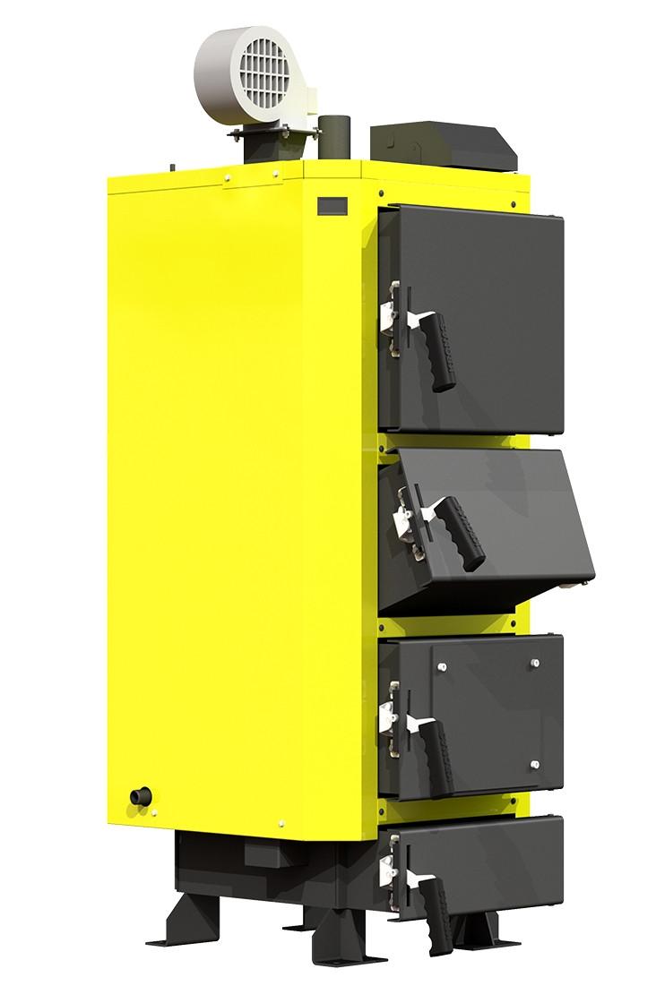 Универсальный твердотопливный котел КRONAS UNIC-P 35 кВт площадь обогрева помещения до 350 м2/ Кронас Уник P