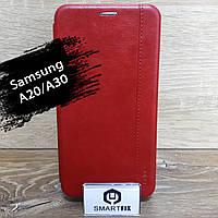 Чехол книжка для Samsung A20/A30 Gelius, фото 1