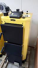 Инновационный котел на твердом топливе КRONAS UNIC NEW 42 квт площадь обогрева помещения 420 м2 / Кронас Уник, фото 3