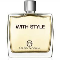 Тестер Sergio Tacchini With Style  Парфюмированная вода (лицензия) Эмираты ОАЭ