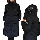 Зимнее Пальто Пуховик на Тинсулейте Дизайнерская Фабричная Модель Tongcoi  Размеры 42-52 в наличии, фото 5