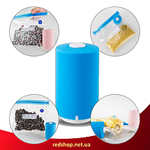 Вакуумный упаковщик для еды Vacuum Sealer Always Fresh с вакуумными пакетами. Упаковщик продуктов. Вакууматор., фото 3