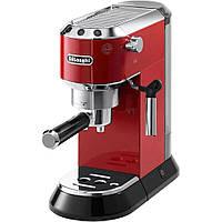 Рожковая кофеварка эспрессо DeLonghi EC 685 Red 1350