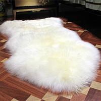 Овечья шкура с натурального меха, 100*70см, натуральный коврик кожаный меховой из овчины