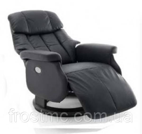 Крісло з електричним Реклайнером Relax Calgar XL Chair Muddyстелаж Чорний.