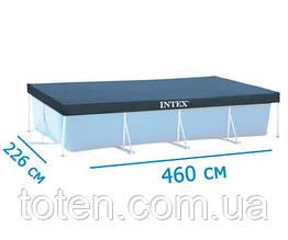 Тент для каркасных, прямоугольных бассейнов 460 х 226 см 28039