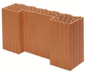 Керамический блок Porotherm 44 1/2 ECO+