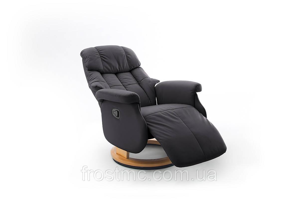 Крісло з електричним Реклайнером Relax Calgar XL Chair Muddy стелаж Натуральний.