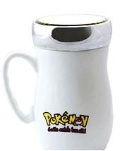 """Чашка з дзеркальною кришкою """"Pokemon"""" керамічна 400 мл, фото 2"""
