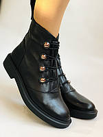 Жіночі осінні черевики. Натуральна шкіра.Висока якість. Erisses. Р. 33, 34,35,36,37,38 .Vellena, фото 7