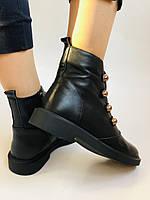 Жіночі осінні черевики. Натуральна шкіра.Висока якість. Erisses. Р. 33, 34,35,36,37,38 .Vellena, фото 5
