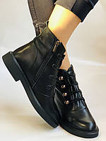Жіночі осінні черевики. Натуральна шкіра.Висока якість. Erisses. Р. 33, 34,35,36,37,38 .Vellena, фото 9