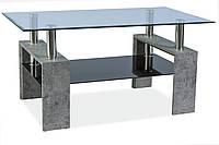 Журнальный стол Signal Мебель Lisa II Серый (LISA3TCSZK)
