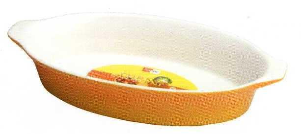 Форма овальная из жаропрочного фарфора 29 см Forno