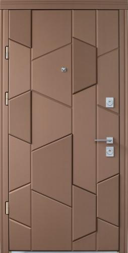 Вхідні броньовані квартирні двері Straj (Страж) модель Matrix